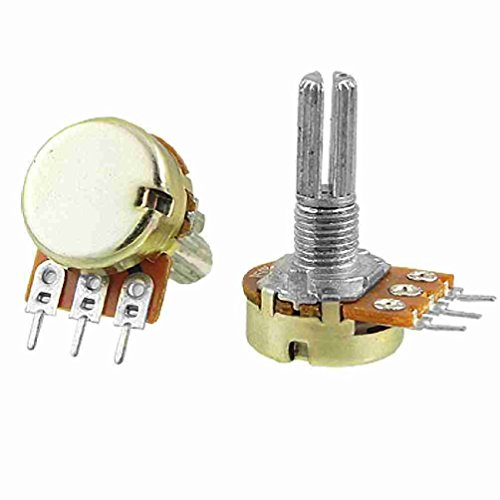 2 x B50K 50K OHM Linear Taper Drehpotentiometer 1 / 2W