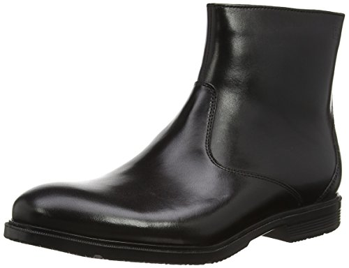 Rockport M77095 Stivaletti alla Caviglia non Foderati da Uomo, Colore Nero, Taglia 44 1/2 EU (10 UK)