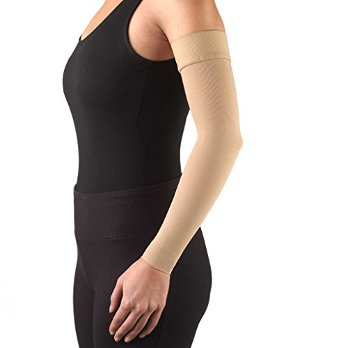 Truform Medical Arm Sleeve, Moderate 15-20 mmHg Compression, post-mastectomy, lymphedema (Burn Garment compare prices)