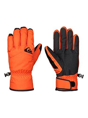 Quiksilver EQYHN03051-NMJ0-S_orange_S - Guanti da sci uomo, S, colore: Arancione arancione
