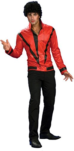 Morris Costumes Men's Michael Jackson Thriller Jacket, Red, Small