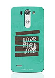 Sowing Happiness Printed Back Cover for LG G3 Beat