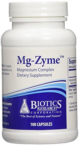 Biotics Research Mg-Zyme 100 caplets