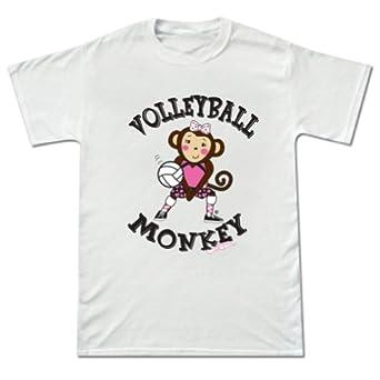 Buy Volleyball Maisy Monkey Short Sleeve Tee by Sports Katz