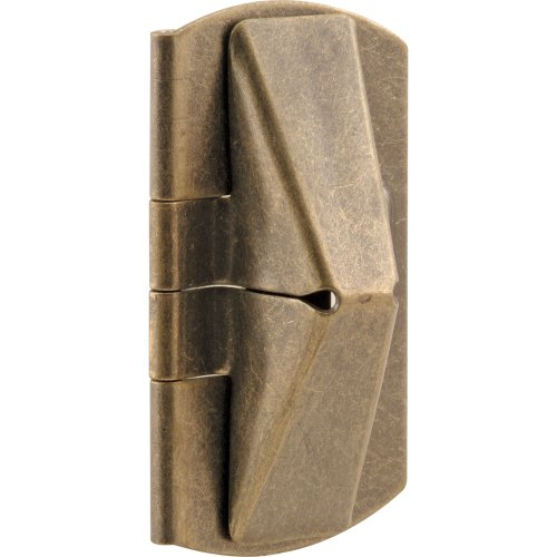 Prime-Line Products U 9929 Double Hung Wood Window Flip Lock, 1 in. x 2 in. x 7/16 in., Steel, Antique Brass, 2-Pack (Block Window Vent compare prices)