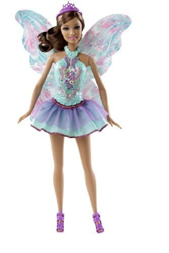 Barbie Fairy Fashion Mix And Match Teresa Doll Short Purple Turquoise Skirt by Mattel