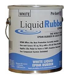 Meridian Liquid Coatings F9981-1 Liquid Rubber EPDM 1 Gallon, White