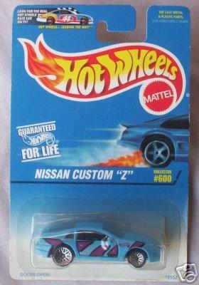 Mattel Hot Wheels 1997 1:64 Scale Blue & Purple Nissan Custom Z Die Cast Car Collector #600
