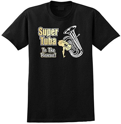 Tuba-Super-Rescue-Music-T-Shirt-13-Gren-5-Jahr-6XL-MusicaliTee
