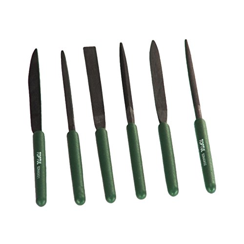 Toptul GNBA0601 Needle File Set (6 Pc)