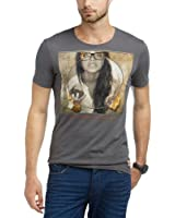 edc by ESPRIT Herren T-Shirt Slim Fit 083CC2K003
