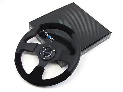Steering Wheel Suede 320mm Suede Steering Wheel With