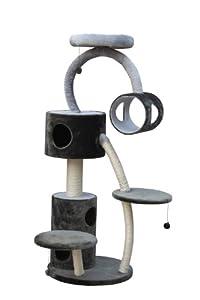 nobby 63074 53 kratzbaum f r katzen manga grau anthrazit haustier. Black Bedroom Furniture Sets. Home Design Ideas