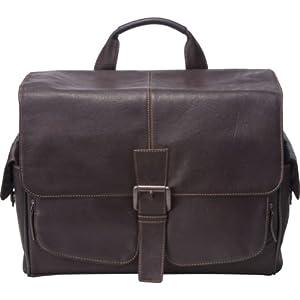 Jill-e 144744 Jack Messenger Leather Camera Bag (Brown)