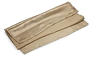 Neiko® 10908A Fiberglass Welding Blanket, Rated at 1000F | 4 x 6 Feet with Grommets