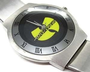 NEU Leder FRAUEN Herren Armbanduhren Geschenk SUSS178 Ultra Slim Stainless Steel Wrist Watch NEW / Wu Tang Wu-Tang Logo