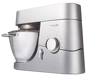 Kenwood KM 010 Küchenmaschine Titanium Chef / 1400 Watt / Funktionen: Rühren, Schlagen und Kneten