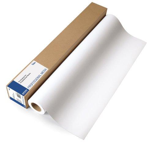 Epson Proofing Paper - Papier épreuve plastifié semi-mat - 9,9 millièmes de pouce - blanc - Rouleau (43,2 cm x 30,5 m