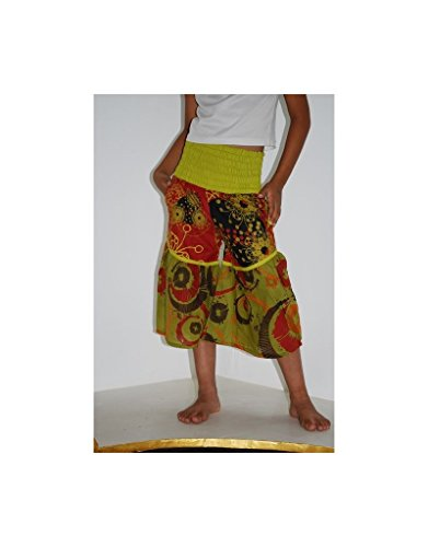 Elastico in vita pantaloni EN06V - L (7-8 anni), Multicolor