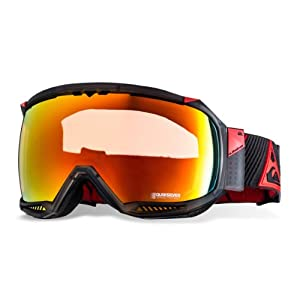 Quiksilver Men's Hubble Multi Goggle - Red, One Size