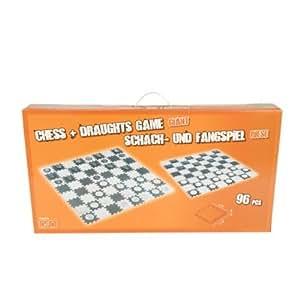xxl schach dame puzzlematten schaumstoff spielteppich bodenpuzzle spielmatten spielzeug. Black Bedroom Furniture Sets. Home Design Ideas