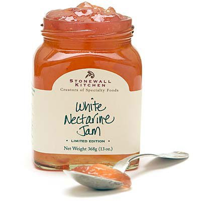 Stonewall Kitchen Limited Edition White Nectarine Jam