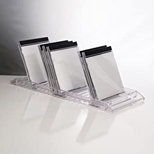 US Acrylic® Clear CD Flip Tray - holds 20 standard CD jewel cases