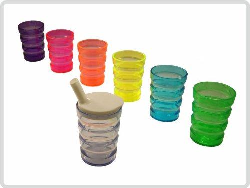 Tinkbecher-Trinkhilfe-Farbe-orange-auslaufsicher-Top-Qualitt