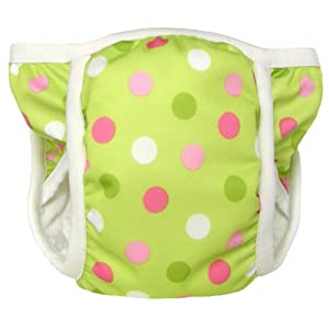 Bummis Potty Pant, Pistachio Dot, Small