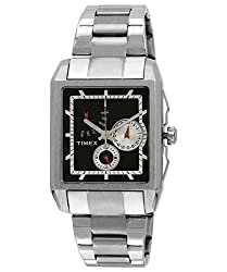 Timex Analog Black Dial Mens Watch - J300
