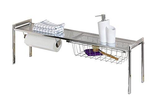 wenko 7385100 tag re sous lavabo 4008838773857 cuisine maison rangements sous vier. Black Bedroom Furniture Sets. Home Design Ideas