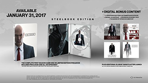Hitman: The Complete First Season Steelbook Edition  galerija
