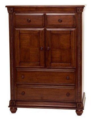 Cheap Simmons Kids Furniture Mendocino Chiffrobe Dresser, Deep River Cherry (258050-28)