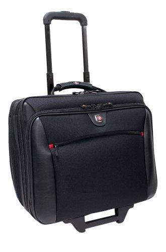 Wenger Swissgear Potomac Laptop Roller Case, inc Matching Laptop Case, fits upto 17