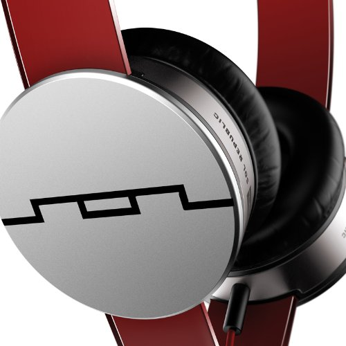 Tai nghe SOL Republic Tracks HD On-ear Headphones Red