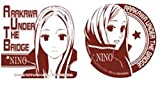 Arakawa Under the Bridge cork coaster nino