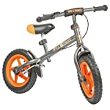 Hudora Steel Balance Bike  (Orange/Silver)by Hudora