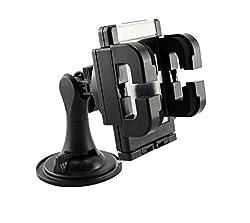 LipiWorld best Design Universal Car Mount Cradle Holder Windshield Mobile / GPS Suction Holder For Devices Upto 5.5
