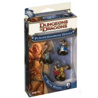Imagen de D y D Dungeons and Dragons Miniatures Jugadores Manual Heroes Heroes Divina 1