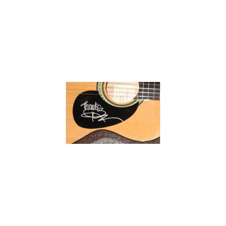 Rick Springfield Signed Autograph Full Acoustic Guitar