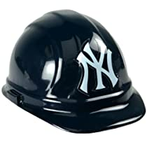 fedaa167faa The New York Yankees bring you this great Baseball Hard Hat. This New York  Yankees Baseball Hard Hat is black with the famouse NY in white on the  front.