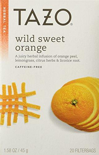 Tazo Wild Sweet Orange Tea 24ct Box