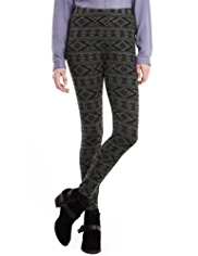Indigo Collection Fair Isle Leggings