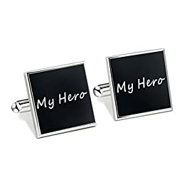 7th Element Stainless Steel Cuff Link \