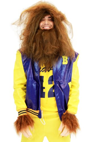 Teen Wolf Medium Adult Movie Costume Beavers 42 Werewolf With Jacket