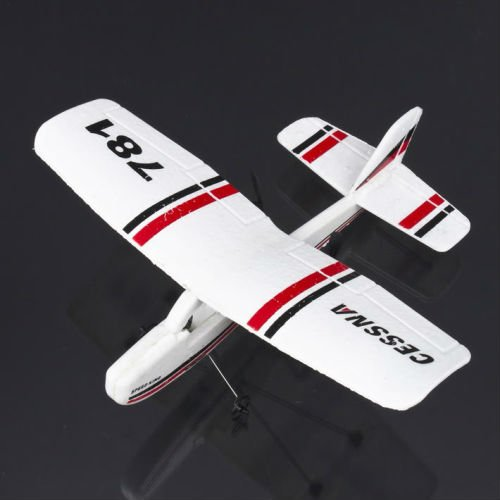 Micro Cessna 781 2Ch Electric Rtf Remote Control Rc Airplane (Color May Vary)