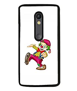 printtech Joker Clown Back Case Cover for Motorola Moto G3 , Motorola Moto G (3rd Gen)