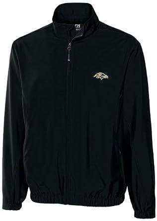NFL Baltimore Ravens Mens WindTec Astute Full Zip Windshirt by Cutter & Buck