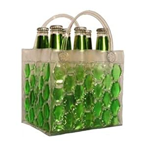 Chill It Bags Beer Cooler Bag Green