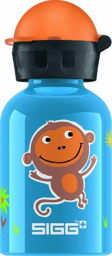 Sigg Jungle Monkey Water Bottle, Blue, 0.3-Liter front-346575